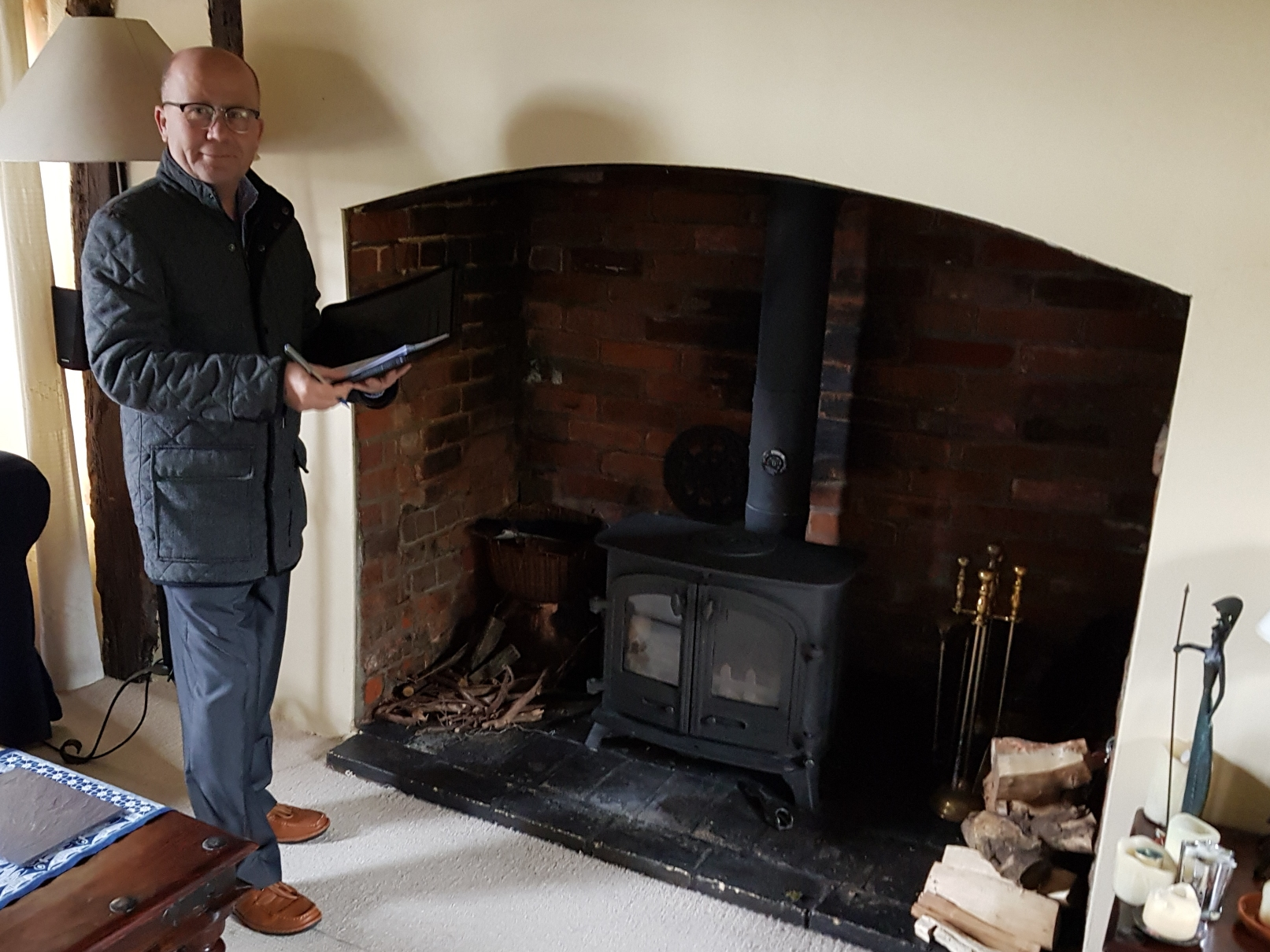 Wood Burner Inspection